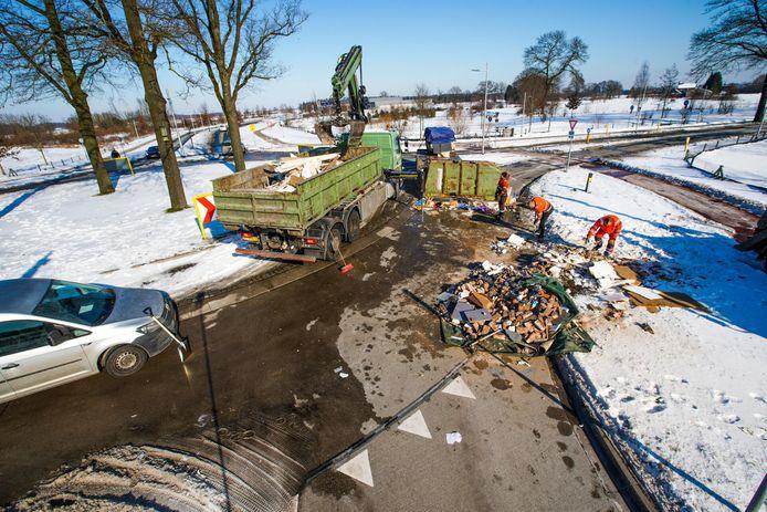 Ongeluk in Veldhoven.