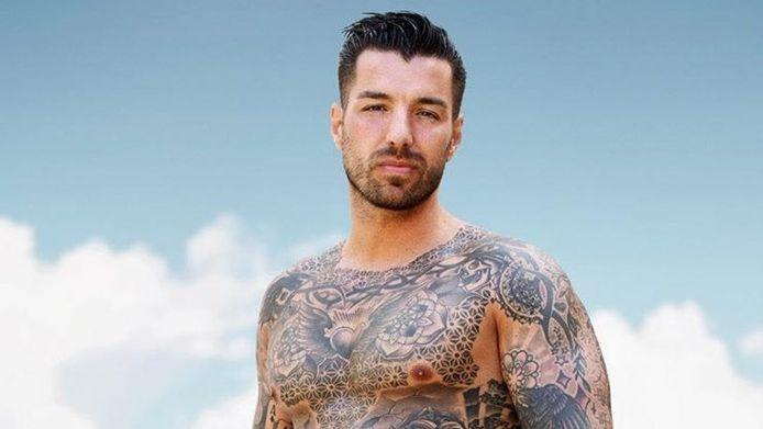 Sander uit het meest recente seizoen van 'Ex on the Beach: Double Dutch'