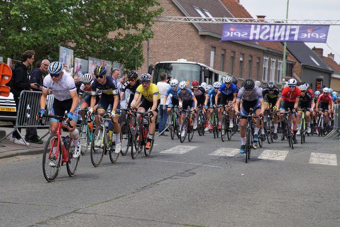 Een beeld uit de laatste Internationale Junioren Driedaagse van 2019.