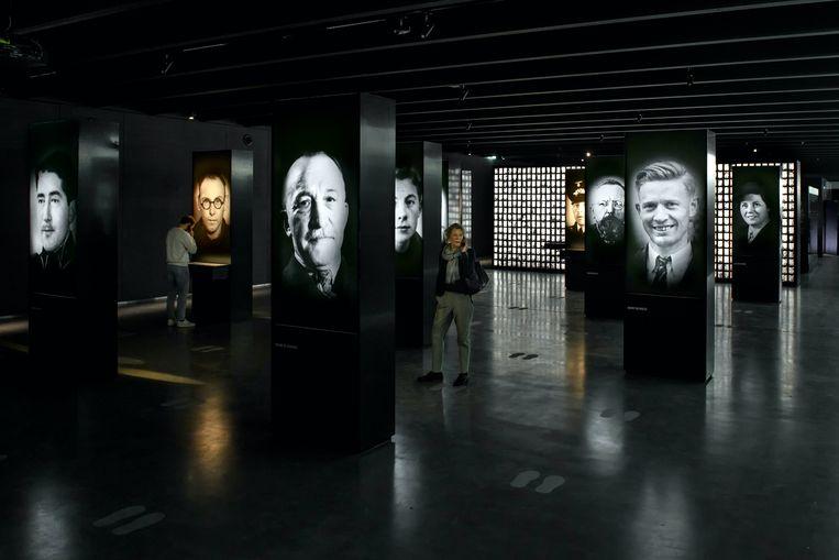 Het nieuwe museum Nationaal Monument Kamp Amersfoort. Beeld Mike Bink / Tinker imagineers