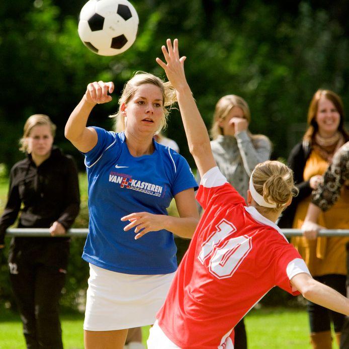 De korfbalsters van Avanti uit Schijndel fuseren met Celeritas uit Wijbosch.