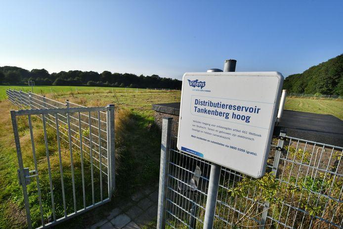 Distributiereservoir Tankenberg Hoog.