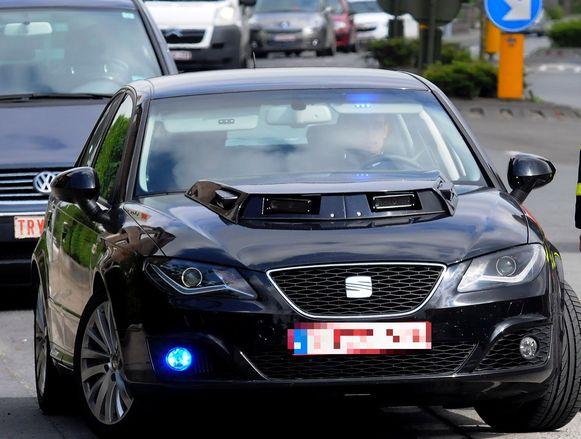 Beeld ter illustratie. De Gentse politie gebruikt binnenkort wagens zoals deze die uitgerust zijn met een slimme camera.