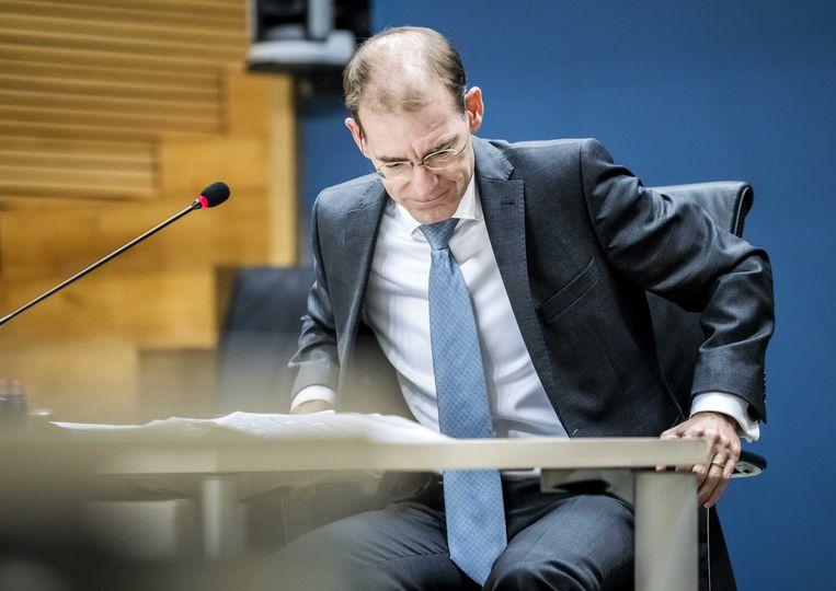 Menno Snel, staatssecretaris van Financiën 2017-2019. Beeld ANP