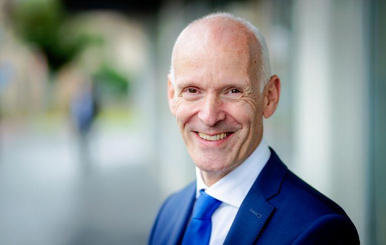 Voorzitter Piet Fortuin van het CNV vindt dat Nederlandse bedrijven zo snel mogelijk moeten overgaan tot het invoeren van een 30-urige werkweek Beeld ANP