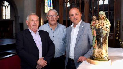 Beeld van Sint-Anna-ten-Drieën krijgt als denkspeeltuig plaats in straatbeeld