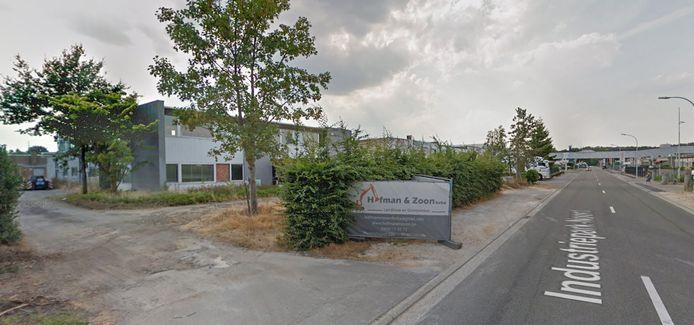 Het bedrijf Hofman & Zoon in het Industriepark-Noord.