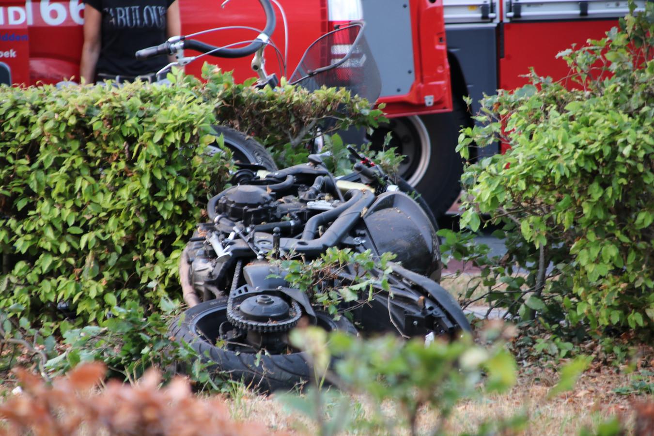 Het ongeluk vond plaats op De Spil in Kootwijkerbroek.