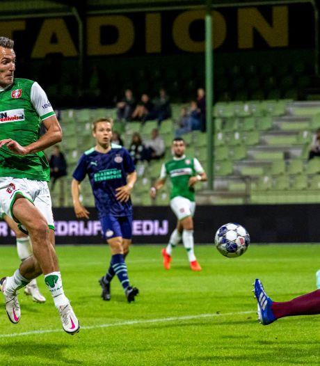 Kevin Vermeulen is terug bij FC Dordrecht na lang blessureleed: 'Ze zijn nog niet van me af'