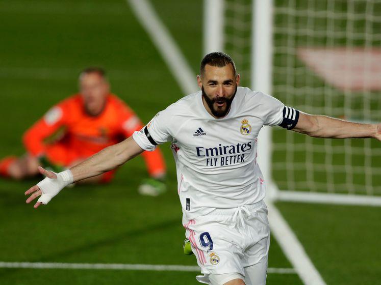 Benzema breekt Clásico open met héérlijke hakbal