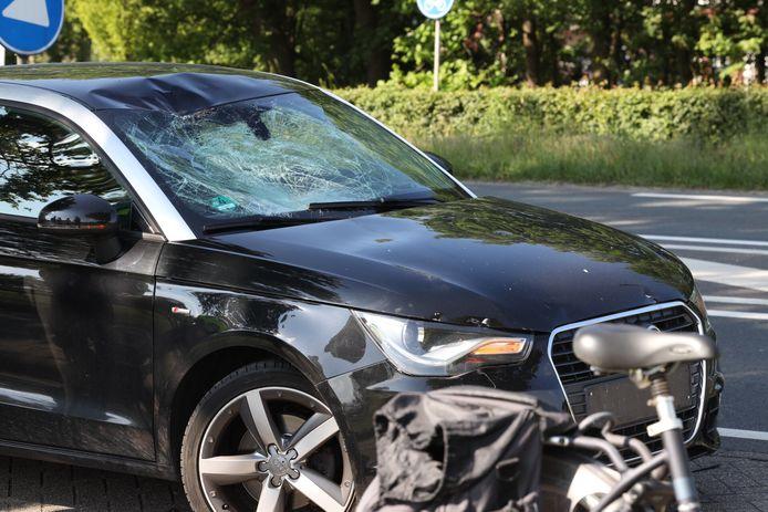 Ongeval in Schijndel waarbij fietser gewond raakte.