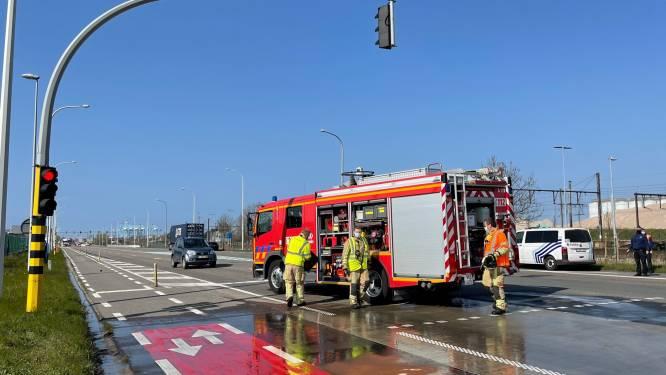 Eén gewonde bij ongeval tussen personenwagen en vrachtwagen