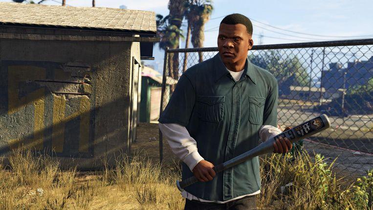 Still uit Grand Theft Auto 5. Beeld rv