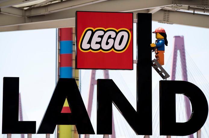 Beeld ter illustratie van Legoland Japan in Nagoya, Japan.