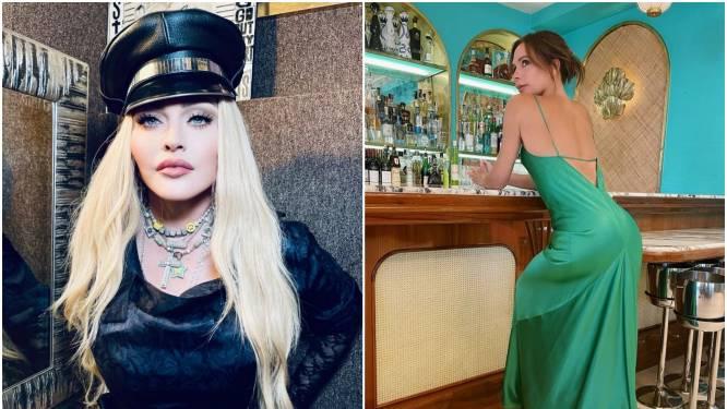 CELEBS 24/7. Strike a pose met Madonna en Victoria Beckham straalt in haar lange jurk