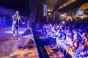Dre Hazes op Pleinpop in 2017 in Alphen.