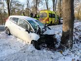 Automobilist gewond na eenzijdig ongeval op Otterloseweg in Ugchelen