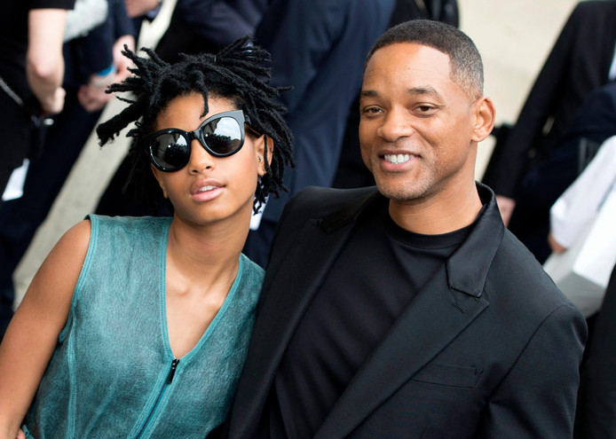 L'acteur Will Smith et sa fille, Willow