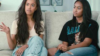 Voor het eerst sinds jaren: Malia en Sasha Obama laten hun hart spreken in Netflix-docu 'Becoming'