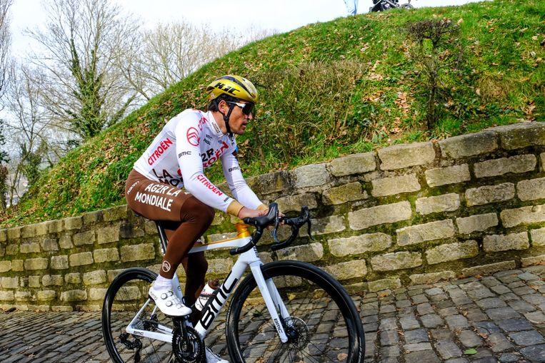 'Met wat geluk had ik drie keer de Ronde van Vlaanderen kunnen winnen. 'Ik win vandaag', zei ik in 2016. Vijf minuten later lag ik op de grond.' Beeld Yves Perret