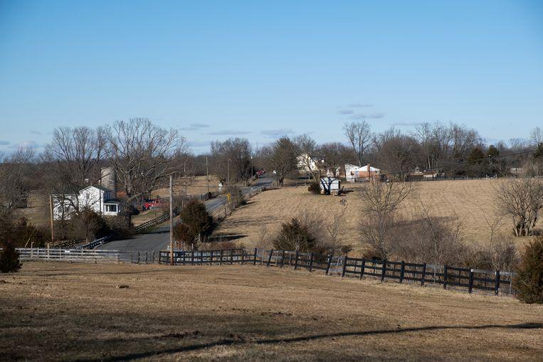 Het heuvelachtige en uitgestrekte gebied van Clarke County in Virginia waar Thomas Caldwell met zijn vrouw Sharon woonde. Beeld Eline van Nes