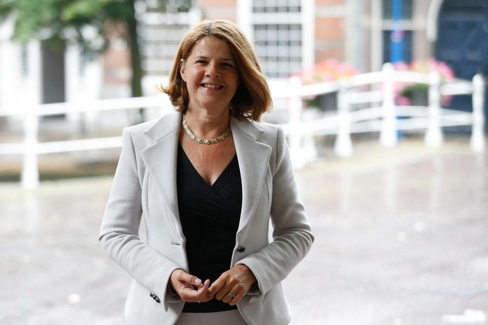 Burgemeester Marja van Bijsterveldt.