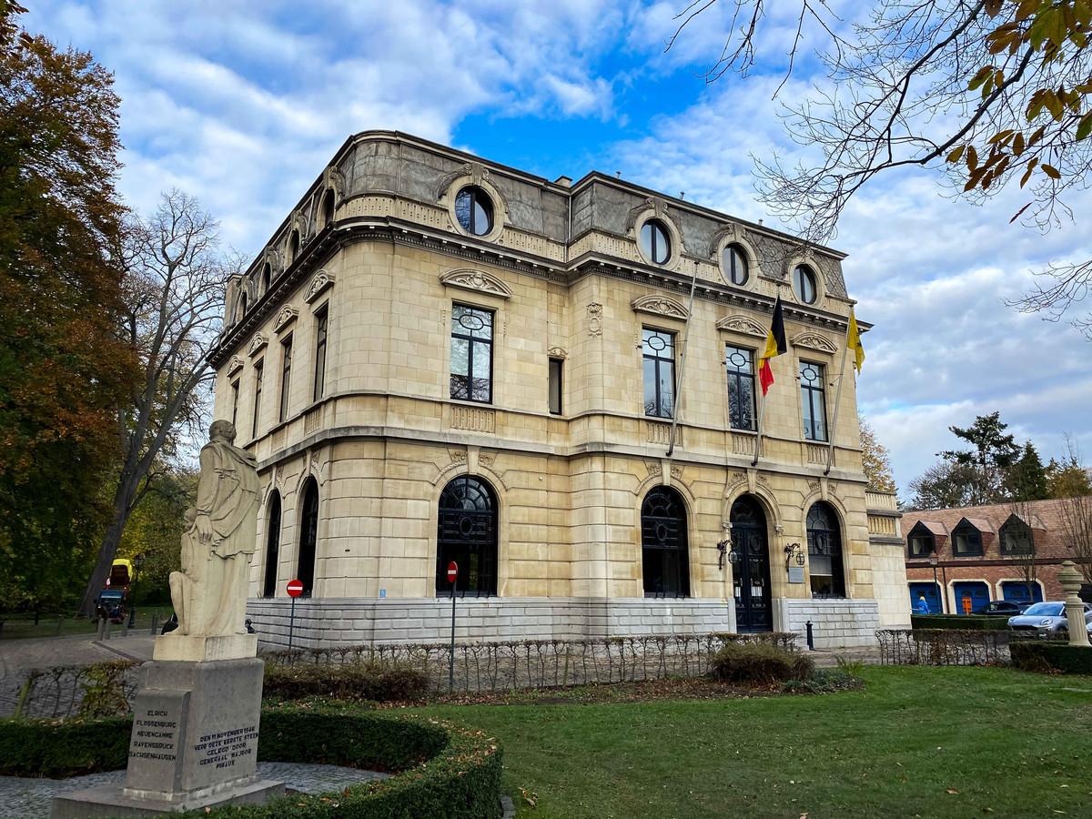 Het gemeentehuis van Boechout.