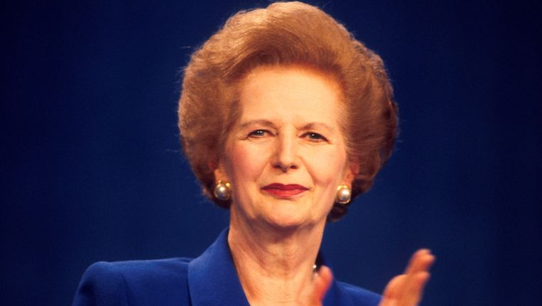Margaret Thatcher in 1994 Beeld getty