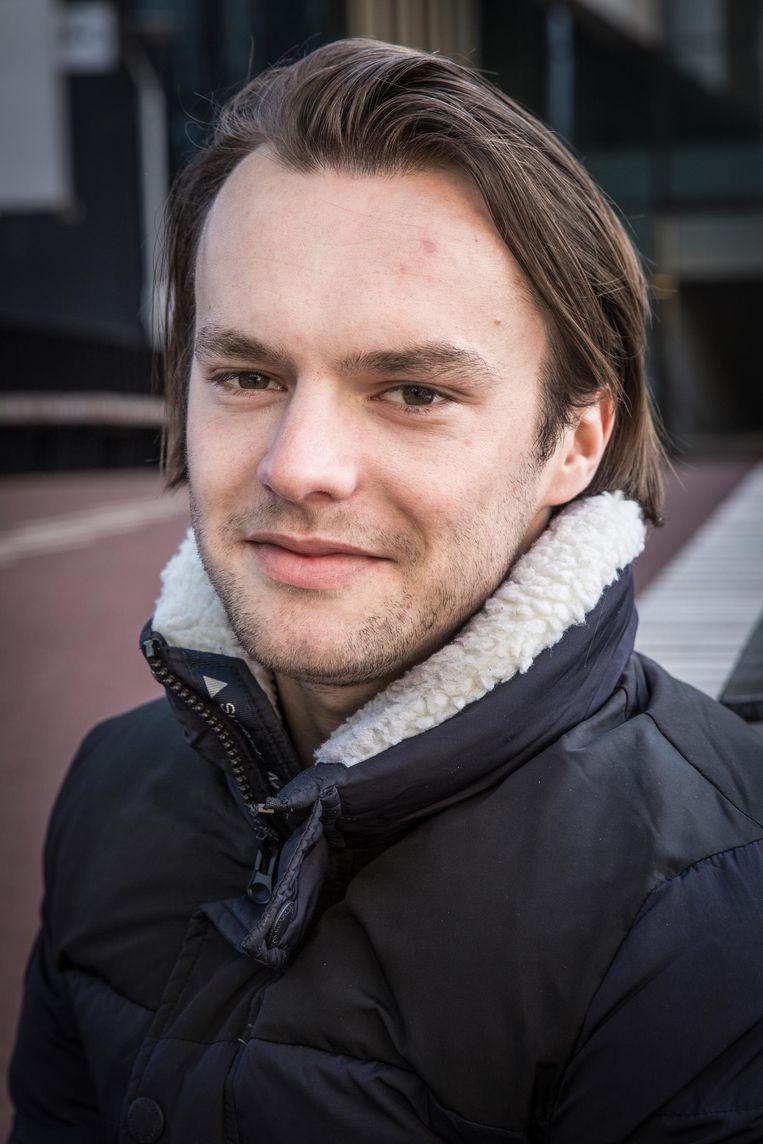 Hans van Haastrecht (24) Beeld Dingena Mol