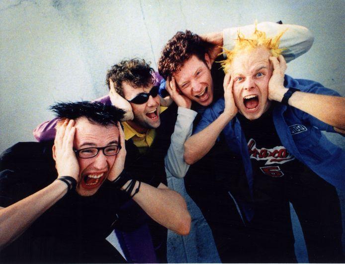 De Heideroosjes in de jaren negentig.