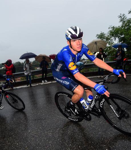 """Tour de Lombardie: Evenepoel ne pense à sa chute de l'an dernier, """"je suis juste content de courir à nouveau"""""""