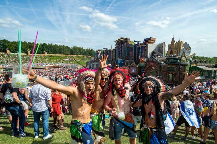 Een archiefbeeld van Tomorrowland 2019. Beeld Klaas De Scheirder