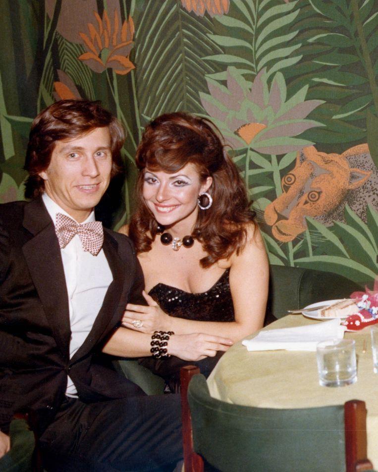 Maurizio Gucci met zijn vrouw Patrizia Reggiani. Beeld Hollandse Hoogte / Zuma Press