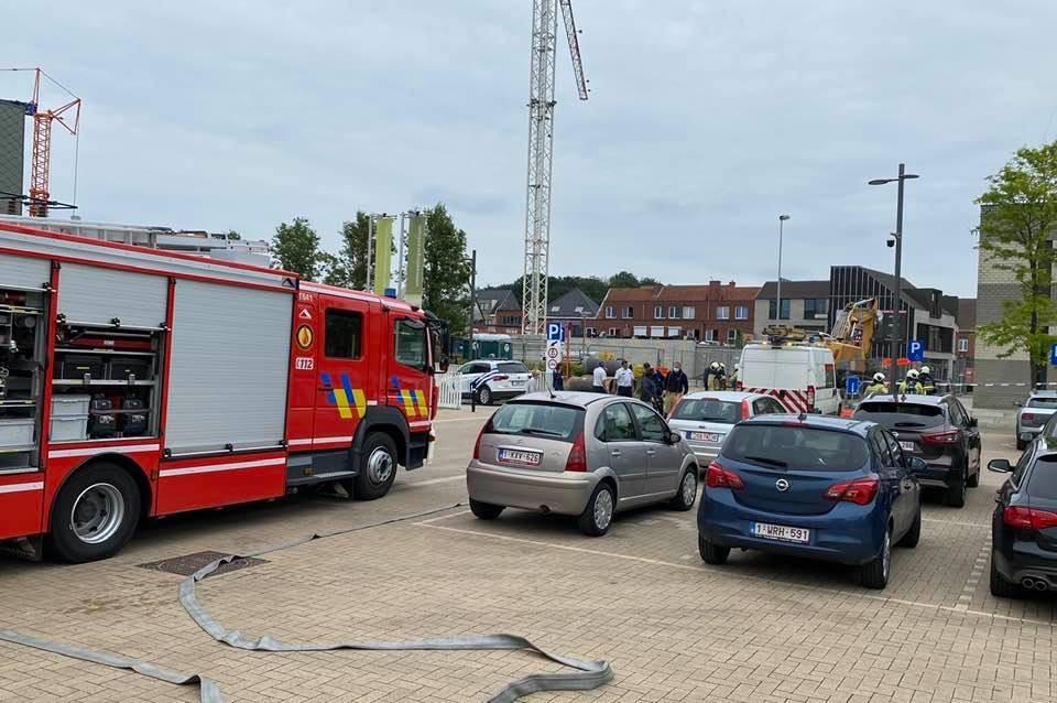 Het gemeentehuis werd ontruimd na een gaslek