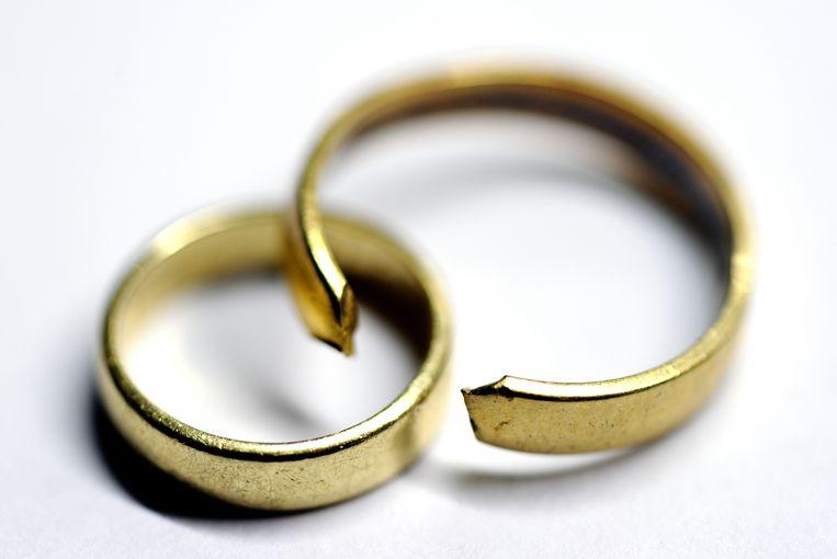 Vrouwen gaan er financieel het meest op achteruit na een echtscheiding, becijfert het Centraal Bureau voor de Statistiek (CBS). Beeld ANP XTRA