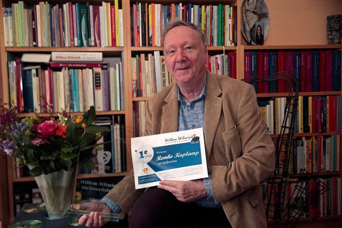 Remko Koplamp in 2019 met de eerste prijs.