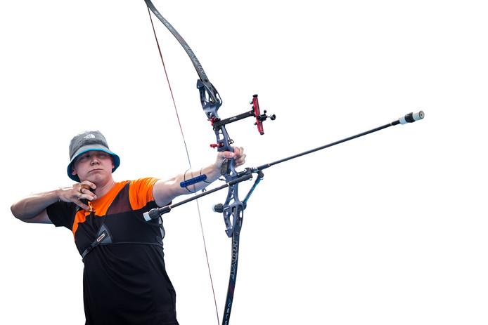 Sjef van den Berg afgelopen jaar in actie in Colombia.