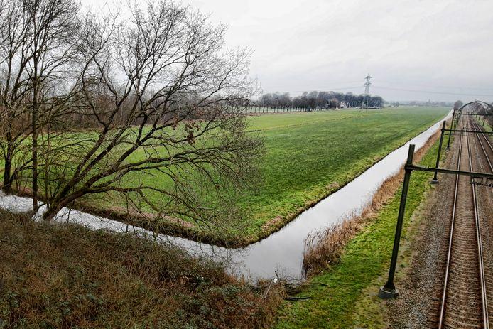 Op dit weiland in Maartensdijk wil het Biltse college een zonnepark.