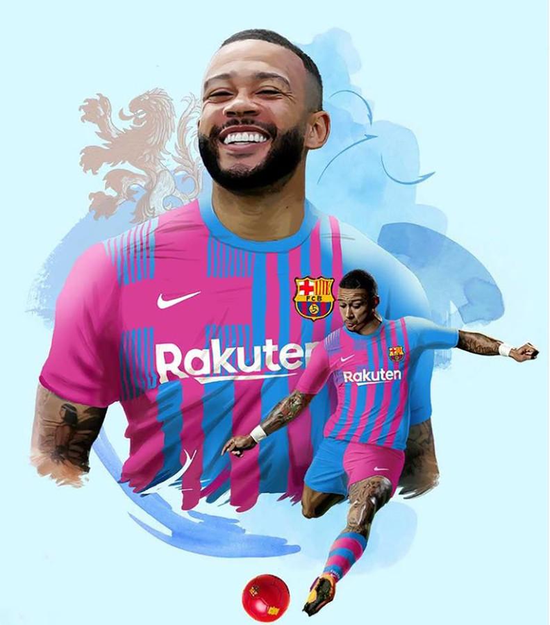 Memphis Depay gaat de komende twee jaar voetballen bij FC Barcelona.