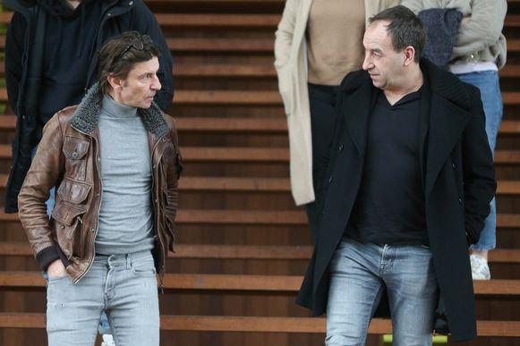 Koen Wauters en Pascal Feryn (vader van slachtoffer Maxim).