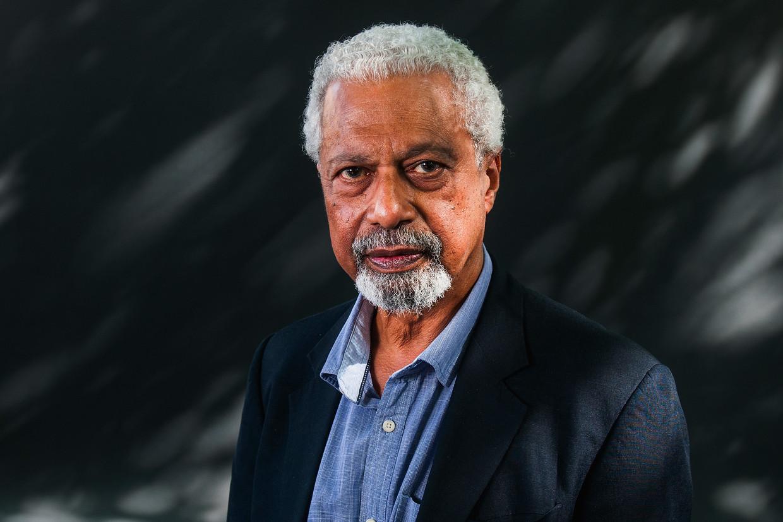 De Nobelprijswinnaar van dit jaar, Abdulrazak Gurnah Beeld Getty Images