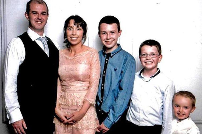 Alan Hawe en zijn gezin