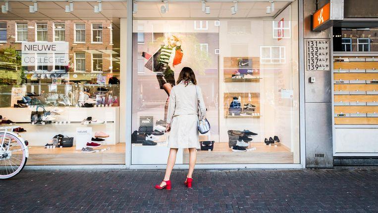 Ontmoeten doe je online of op plekken die uitnodigen tot ontmoeten, niet noodzakelijkerwijs in een winkelstraat Beeld Tammy van Nerum