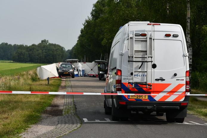 Onderzoek aan de Paterswal in Vriezenveen.