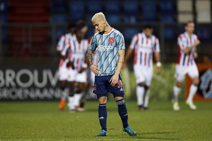 Ajacied Antony baalt als Willem II op 1-1 is gekomen.