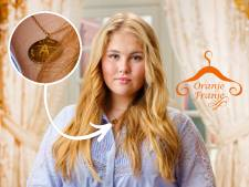 Van wie kreeg Amalia haar gouden ketting met de letter A én 'Love' en 'Ti Amo'?