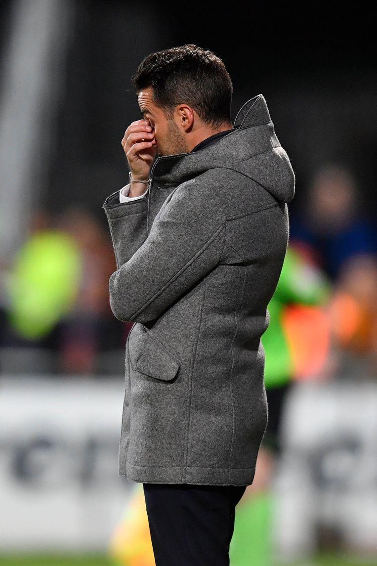► Ferrera zou volgens KV Mechelen-voorzitter Timmermans 'nog dat tikkeltje ervaring' missen. Beeld Photo News