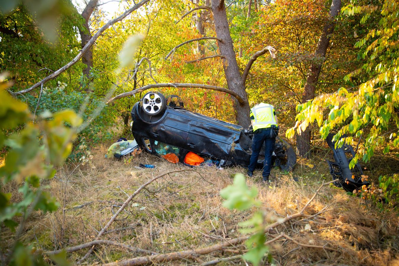 De auto van het slachtoffer.