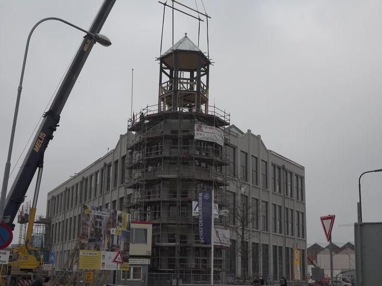 Historische dag voor Timmerfabriek: torentje is terug