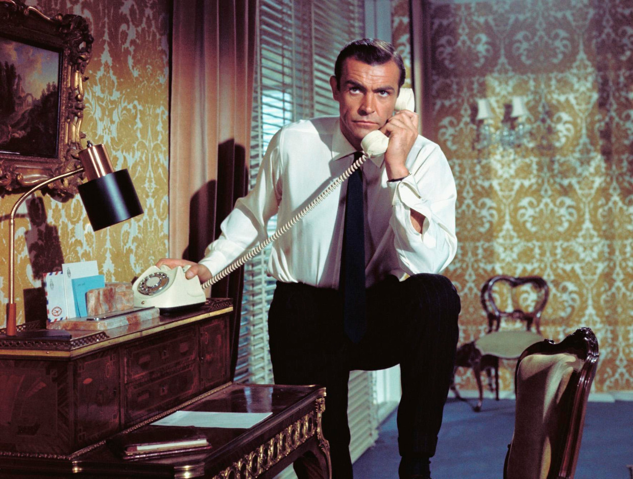 Sean Connery in 'From Russia with Love' Beeld rv
